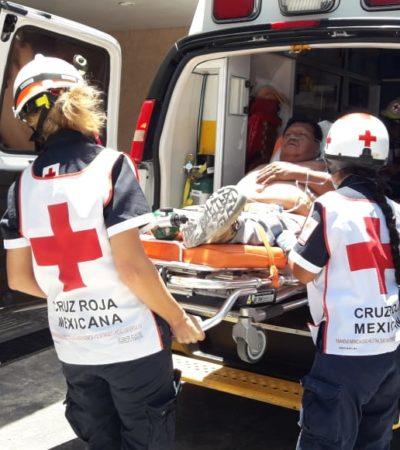 ASALTAN Y BALEAN A CONTRATISTA: Ataque en residencial Arboledas de Cancún deja un herido y un botín no revelado