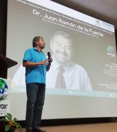 La droga no es tema de 'guerra', sino de salud: Juan Ramón de la Fuente