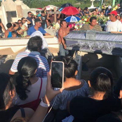 Exigen justicia para madre e hija asesinadas en Carrillo Puerto