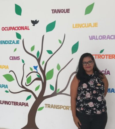 """La atención oportuna de déficits en menores, marca la diferencia a largo plazo"""", asegura Guadalupe Urrutia, coordinadora del CRIM Cancún"""