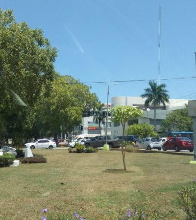 Cierre parcial de la avenida Cobá crea tráfico vehicular inusual