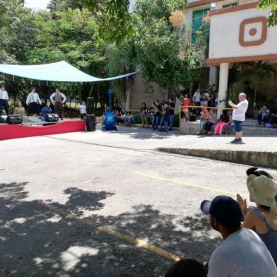 Con evento cultural, jóvenes de Cancún celebran su día