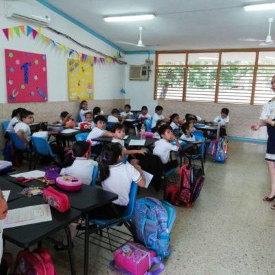 Inicia ciclo escolar 2018-2019 con una matrícula de 340 mil alumnos en QR