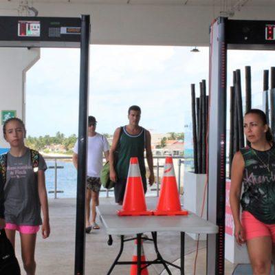 Apiqroo no ha notificado a personal de la Terminal Marítima de Playa del Carmen sobre posible instalación de máquinas de rayos X