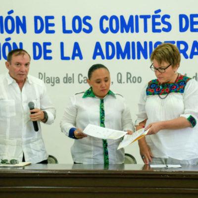 INICIA TRANSICIÓN EN SOLIDARIDAD: Dice Cristina Torres que entregará gobierno con finanzas sanas