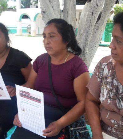Niegan apoyo prometido a mujeres mayas para invernadero en la Zona Maya