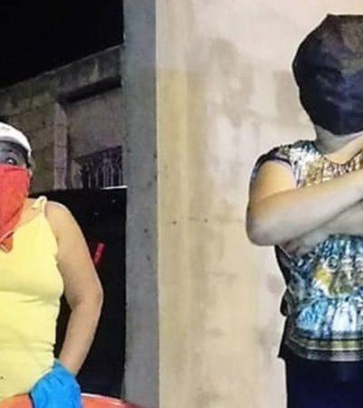 ESCARMIENTO A GOLPES: Colonos hacen frente a delincuentes en la unidad habitacional Ex Hacienda Kalá de Campeche