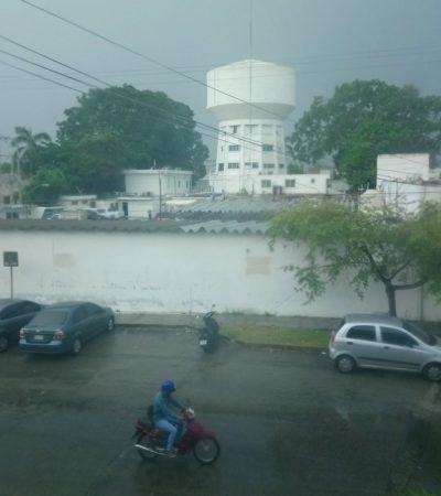 No reportan mayores daños en Chetumal por lluvias