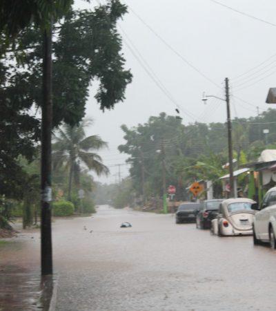 'Paralizan' lluvias actividades en Kantunilkín
