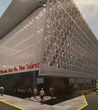 Acusan que funcionarios del gobierno saliente se convertirán en 'locatarios' de un nuevo mercado de Villahermosa cuya inversión rebasó los 400 mdp