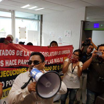 'MARCHA POR LA PAZ' EN CANCÚN: Realizan ciudadanos y familiares de 'El Cubano' manifestación en contra del Fiscal y la inseguridad