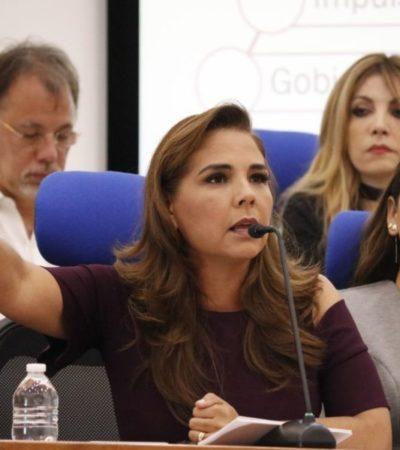 'Mara' Lezama muestra ambigüedades sobre 'Ley Casitas' y el cobro de predial