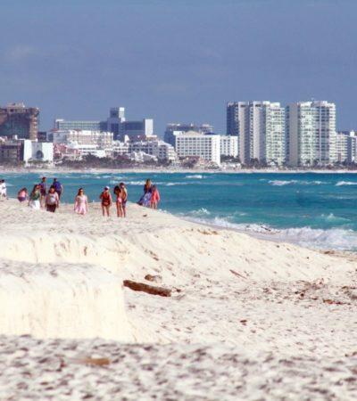 Mantienen abierta licitaciones públicas para recuperar playas en Cancún, Playa del Carmen, Riviera Maya y Cozumel