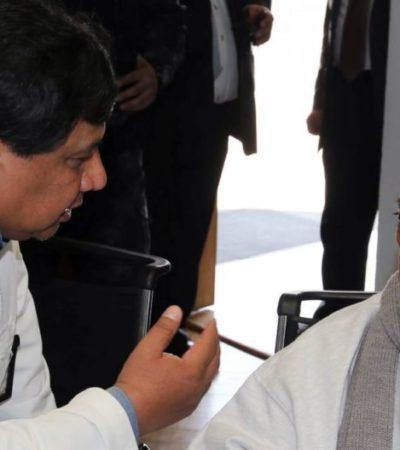 Se retrasa posible arraigo domiciliario de Mario Villanueva por incompetencia de juez cancunense