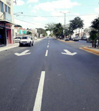 Con inversión de 7.5 mdp, modernizan la Avenida Los Tules de Cancún