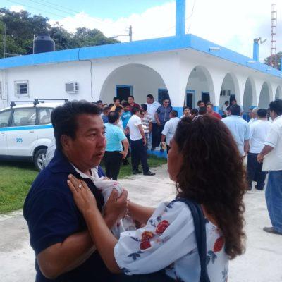 Estalla violencia en asamblea de taxistas en Nuevo Xcan