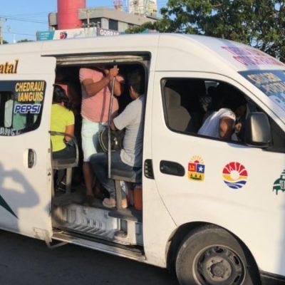 Activan operativo contra Urvans en Cancún, luego de grave accidente