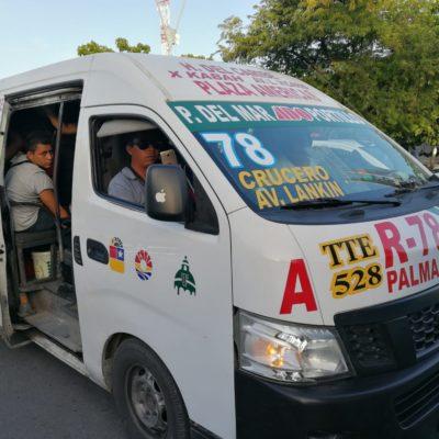 MÚLTIPLES IRREGULARIDADES EN LAS COMBIS TTE: Realizan estudio para determinar el futuro, incluyendo su desaparición, de la empresa felixista-borgista de transporte urbano de Cancún