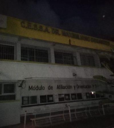CRISIS DEL SECTOR SALUD EN TABASCO: Deja CFE a oscuras un centro de salud en Villahermosa por adeudo de más de 2 millones de pesos