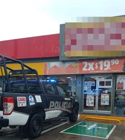 Se lleva ladronzuelo 30 cajetillas de cigarros y 2 mil pesos de tienda en Ciudad del Carmen