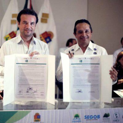 Refrenda Pedro Joaquíncompromiso para combatir la corrupción