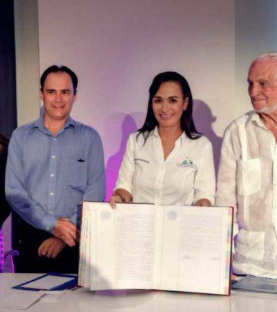 Constituyen ante notario el 'Protocolo Puerto Morelos para la Preservación de sus Playas'