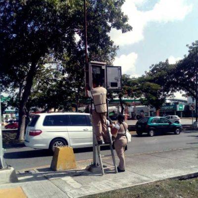 Adelantará Tránsito habilitación del par vial en la Avenida Cobá en Cancún a partir del próximo lunes 20 de agosto