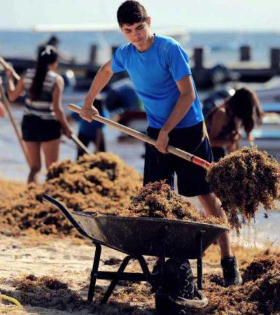 Celebran en Puerto Morelos el Día Internacional de la Juventud con actividades como limpieza de playas, competencias deportivas y un festival musical