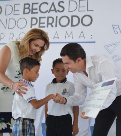 """Becarios agradecen al Ayuntamiento de BJ la continuidad del programa """"Impulso al Desarrollo Humano"""", con el que pueden continuar estudiando"""