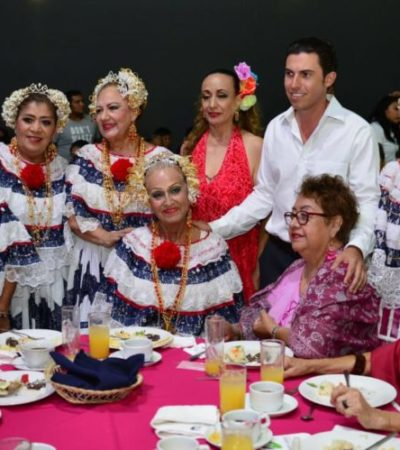 Ayuntamiento de BJ celebra el Día del Adulto Mayor