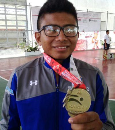 Brillan atletas paralímpicos quintanarroenses