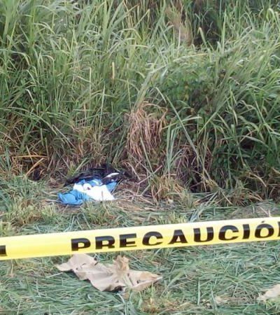 Localizan pierna humana y material quirúrgico 'tirados cual basura' en periférico de Cárdenas