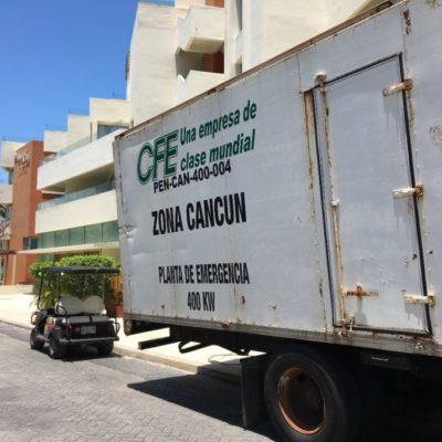 Empresarios de Isla Mujeres exigen al gobierno que tome acciones contra CFE por apagones y cortes de suministro constantes