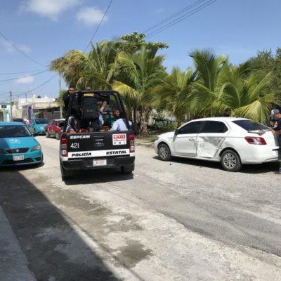 Termina disputa marital con siete detenidos por presuntos delitos de allanamiento y daños