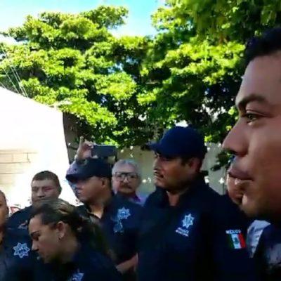 Se inconforman policías de Cozumel por Afore