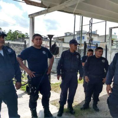 Policías de Carrillo Puerto se reincorporan a sus labores, pero persisten inconformidades