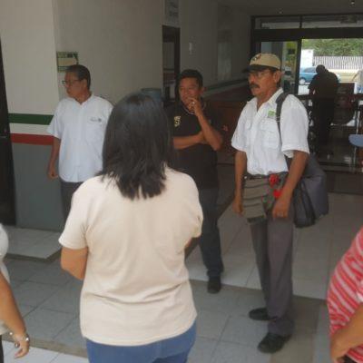 Trabajadores de SCT denuncian acoso, luego de protestas contra delegado en Chetumal