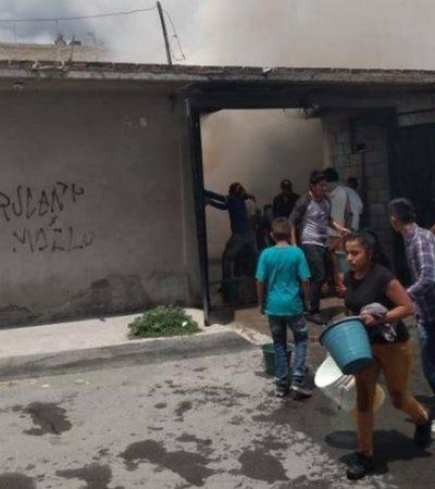 Mueren quemados dos niños encerrados en un cuarto mientras sus padres no estaban en casa