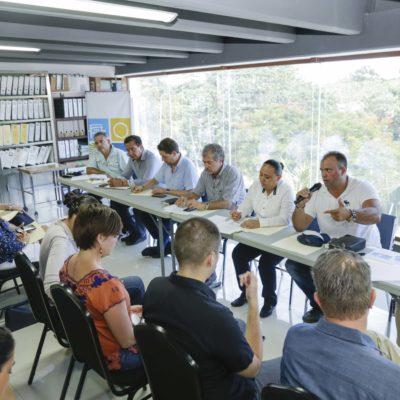 Presenta Solidaridad acciones para atender el arribo de sargazo