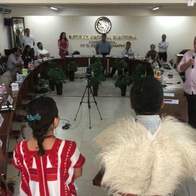 """Reclama la Red Estatal Indígena al INE que elección en Chiapas fue """"una burla"""" para pueblos originarios"""