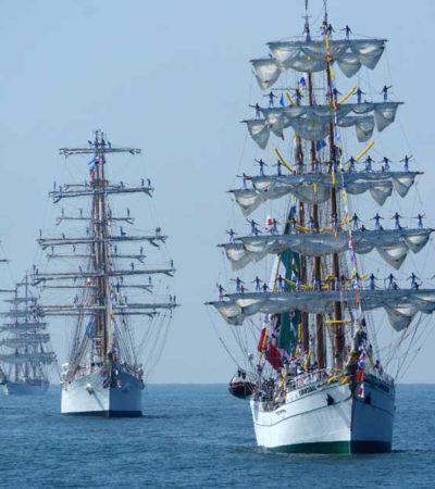 Embarcaciones de Latinoamérica se reúnen en Cozumel