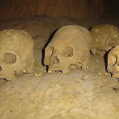 Exhibirá INAH restos óseos de más de 7 mil años de antigüedad encontrados en cueva de Puyil, Tabasco