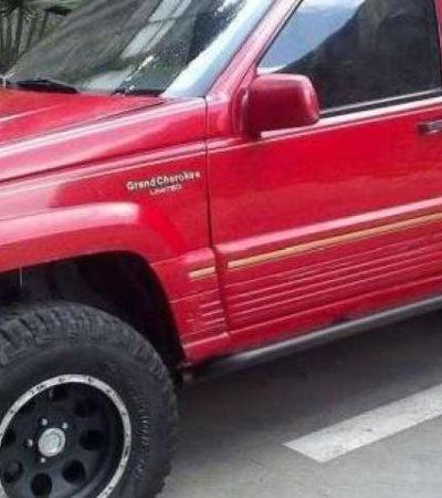 Desata conductora alcoholizada persecución en Ciudad del Carmen y choca contra taxi