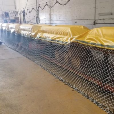 Hay avances en la colocación de barreras para el sargazo, afirma la empresa responsable de los trabajos