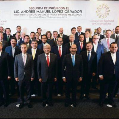 Debilita AMLO oposición de gobernadores priistas a 'superdelegados'; no ejercerán presupuesto ni tareas de seguridad, les garantiza