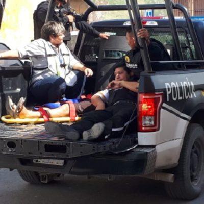 Atestiguan vecinos 'espectacular' intento de robo a compañía de traslado de valores en Campeche