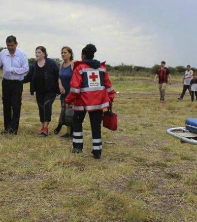 SOBREVIVIERON TODOS A LA CAÍDA E INCENDIO DEL AVIÓN: El más grave es el capitán pero sin riesgo de muerte; el resto sufrió lesiones menores