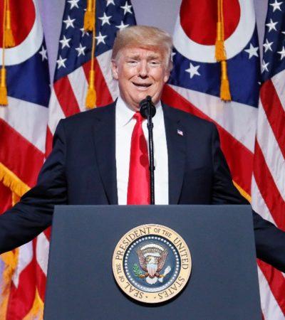 Anuncia Trump inminente 'gran acuerdo comercial' con México; omite mencionar a Canadá, socio también del TLCAN