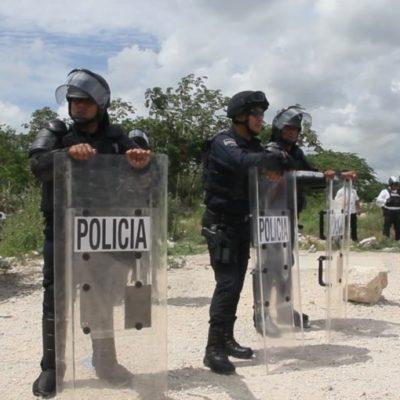 Asegura Cristina Torres que se ha incrementado la seguridad en Villas del Sol, luego de dos días consecutivos de acciones violentas contra autoridades policíacas y elementos de Sintra