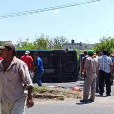 'Peregrinan' lesionados en accidente vial; les niegan atención en dos hospitales